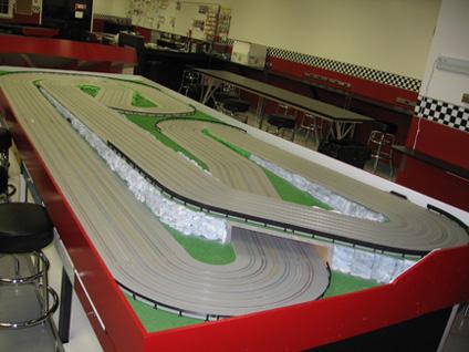 Lane Race Car Track