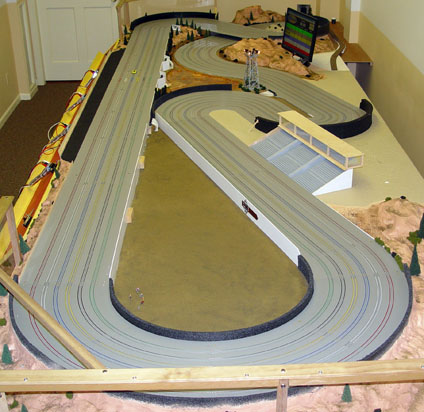 Custom routed ho slot car track apt poker tour 2015